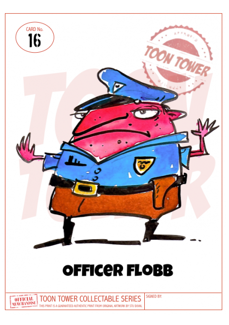 16 - OFFICER FLOBB