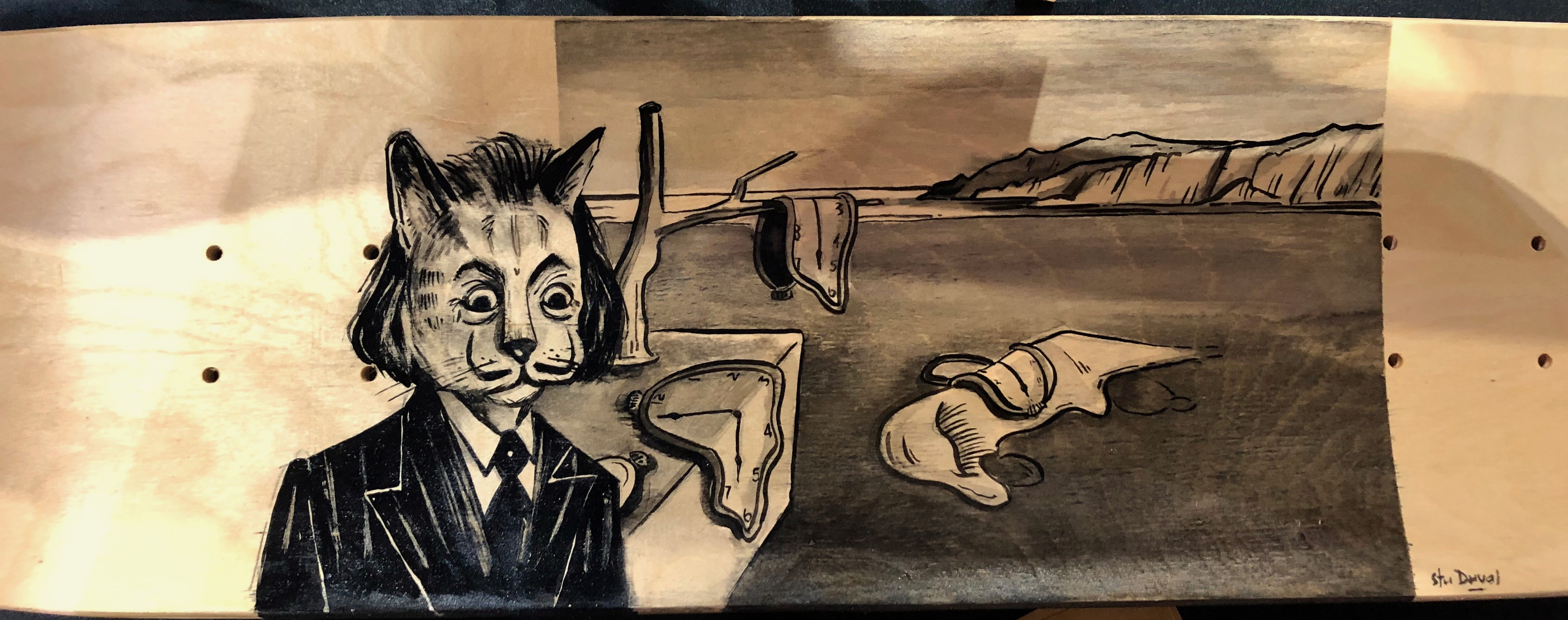 Great Cats Of Art - Salvapaw Dali